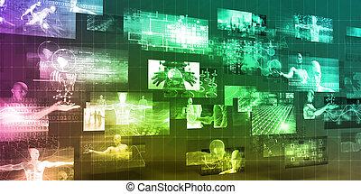 tecnologia, cuidados de saúde