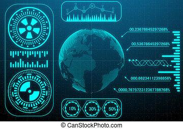 tecnologia, e, inovação, conceito