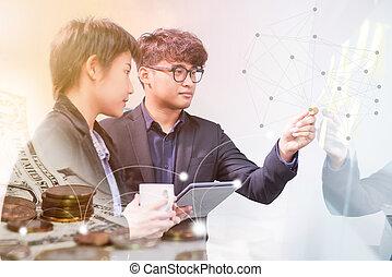tecnologia, e, inovação, em, futuro