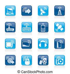 tecnologia fili, icone