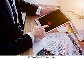 tecnologia, fintech, negócio, inovação