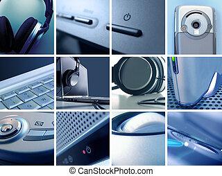 tecnologia, fotomontaggio, ii