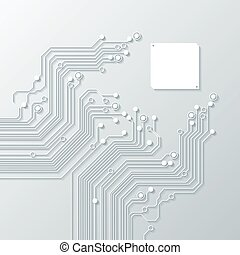 tecnologia, fundos, abstratos, textura