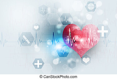 tecnologia, ilustração médica