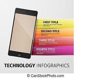 tecnologia, infographics