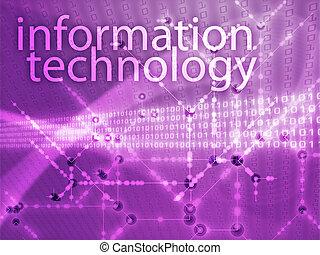 tecnologia informação, ilustração