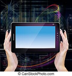 tecnologia, inovação, computando