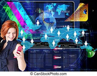 tecnologia, internet.connect