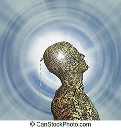 tecnologia, mente