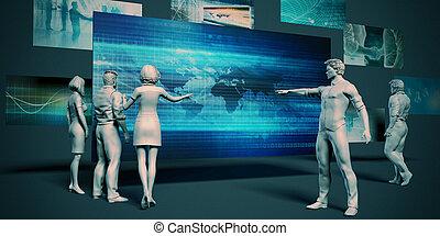 tecnologia, negócio