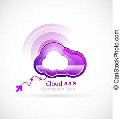 tecnologia, nuvola