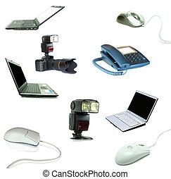 tecnologia, oggetti