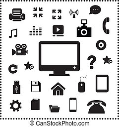 tecnologia, simbolo