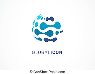 tecnologia, simbolo, -, tecnologia, logotipo, icona
