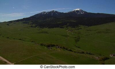 Ted Turner's Ranch near Bozeman Montana