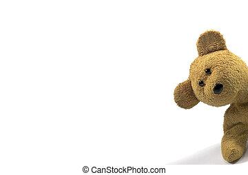 teddy, 偷看