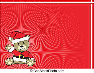 teddy backgroud claus