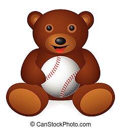 bear baseball ball