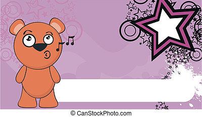 teddy bear cartoon background2 - teddy bear cartoon ...