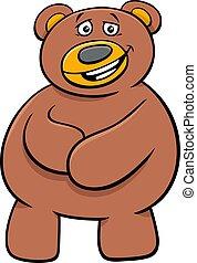 teddy bear cartoon toy character clip art