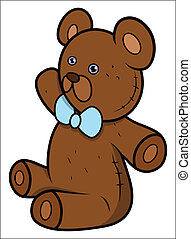 Teddy Bear - Cartoon Vector