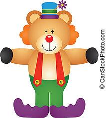 Teddy Bear Clown