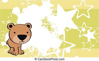 teddy bear cute baby cartoon backgr