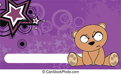 teddy bear  cute cartoon baby wallp