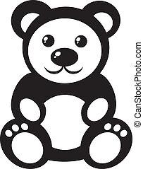 teddy bear - Children's picture -  teddy bear