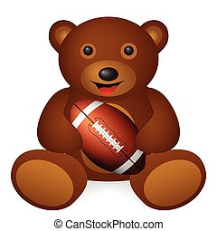 bear football ball