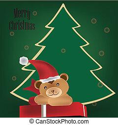 teddy bear for christmas