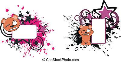 teddy bear funny cartoon copyspace3 - teddy bear funny ...