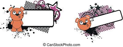 teddy bear funny cartoon copyspace7 - teddy bear funny ...