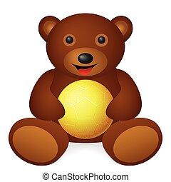 bear handball ball