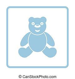 Teddy bear ico