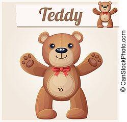 Teddy bear love hugs