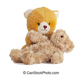 Teddy Bear on white isolate background