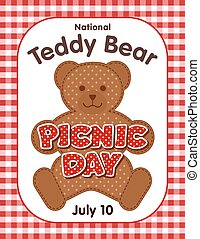 Teddy Bear Picnic Day Poster