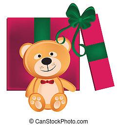teddy bear present