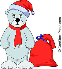 Teddy bear Santa Claus(156).jpg
