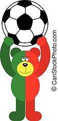 Teddy Bear Soccer Portugal