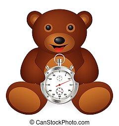 bear stopwatch