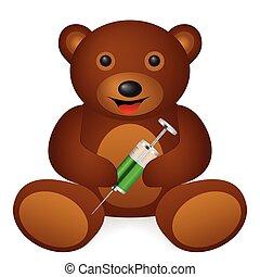 bear syringe