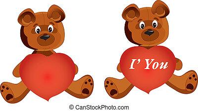 Teddy Bear whith heart