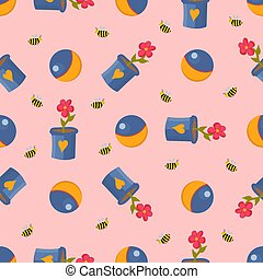 Teddy bear. Winnie-the-pooh seamless pattern. Toys isolated on a white background. Plush witch. Fairy-tale heroes. Book characters..