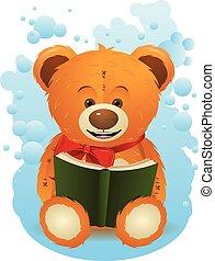 Teddy Bear with Book
