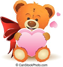 Teddy Bear with Heart