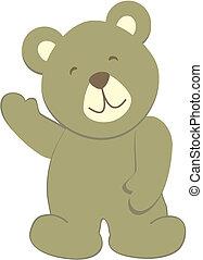 teddy bear8 - teddy bear in vector format