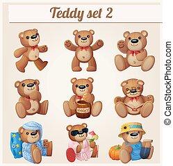 Teddy bears set. Part 2