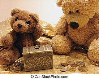 teddy bears & treasure